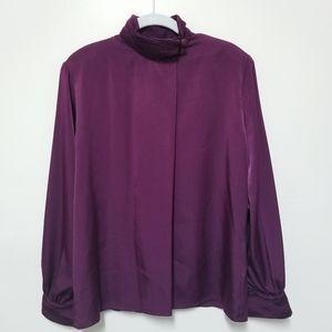 Vintage Pendleton Long Sleeve Blouse Sz 10